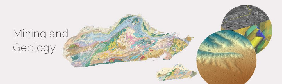 GIS for Mining Geology