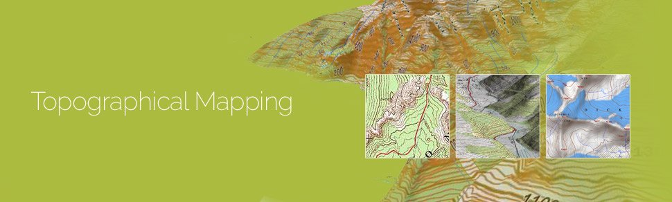 Topographical Mapping GIS Services