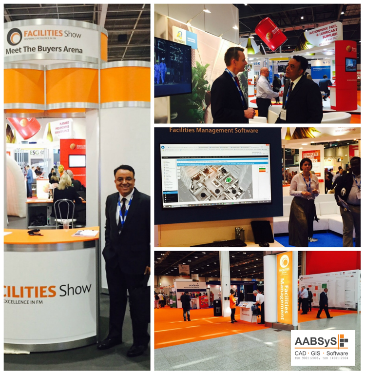 AABSyS IT attends Facilities Show 2015