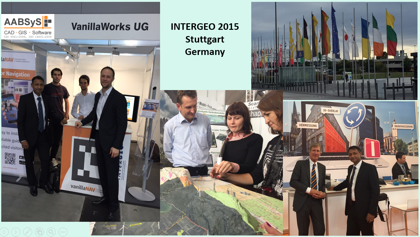 AABSyS IT attends INTERGEO 2015