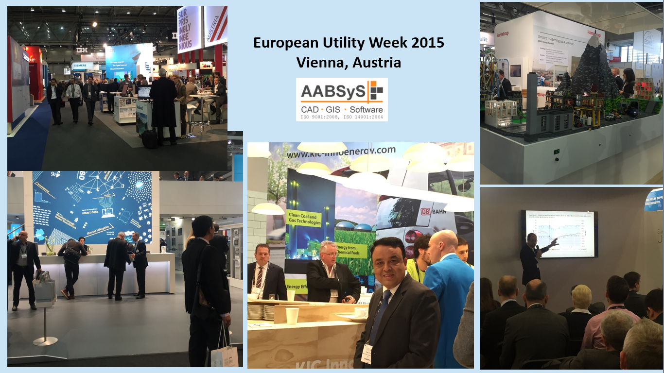 AABSyS IT attends European Utility Week 2015