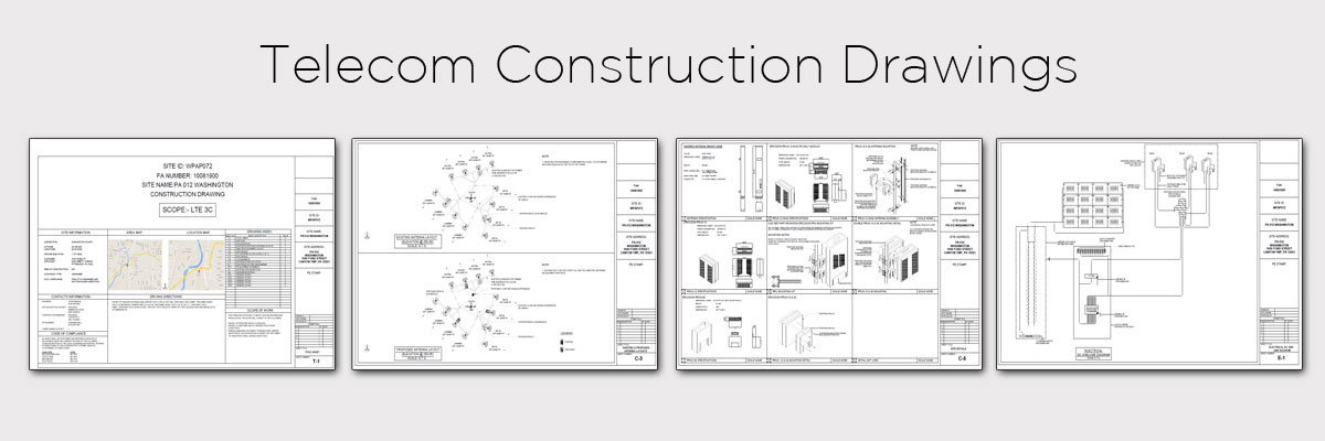 Telecom construction drawings aabsys for Construction drawing apps