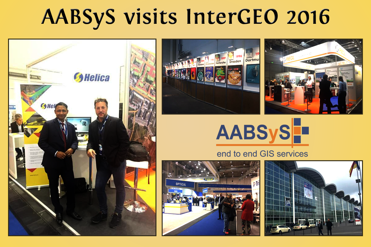 AABSyS IT attends InterGEO 2016