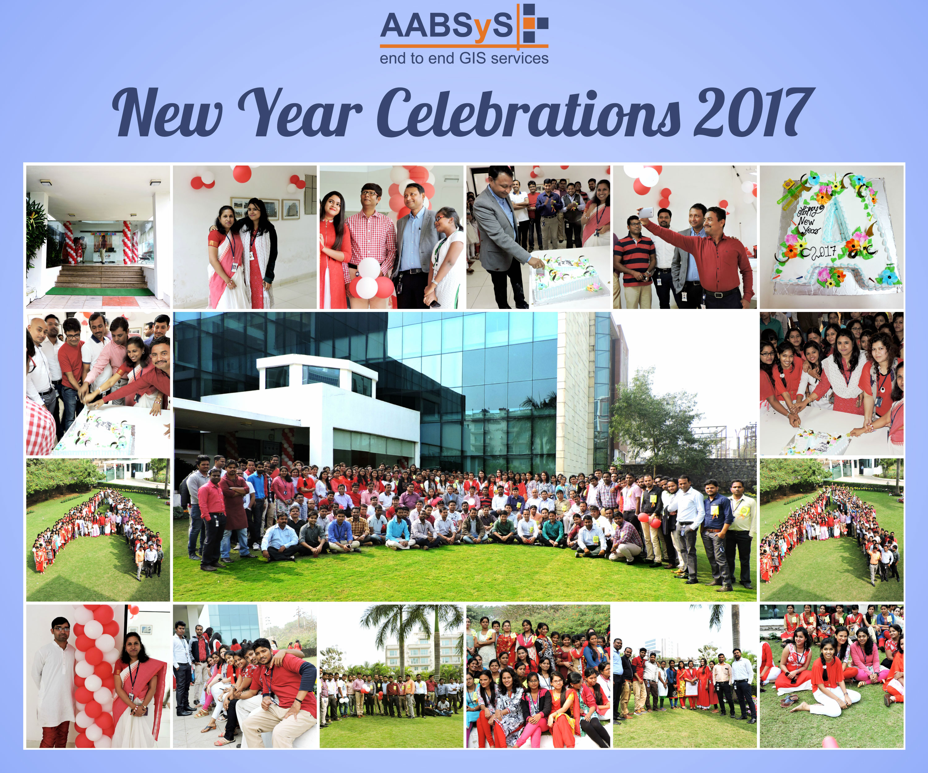 AABSyS IT Celebrates New Year 2017 with Splendour
