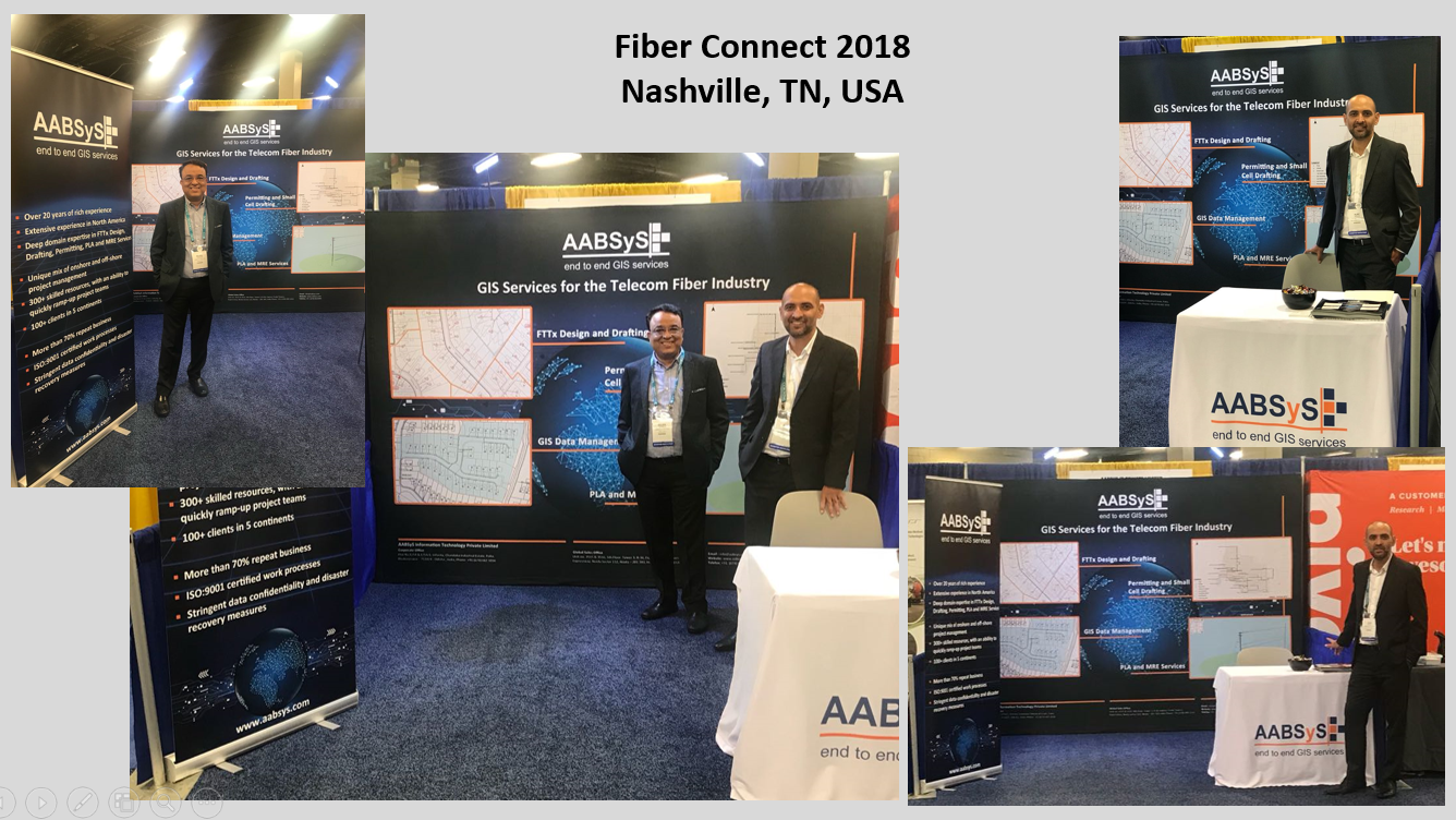 AABSyS IT Participates in Fiber Connect 2018