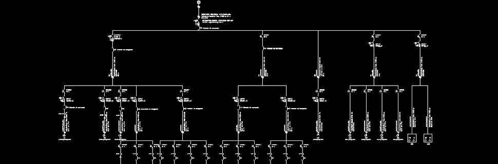 Report Generation From Single Line Diagrams
