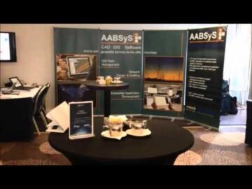 AABSyS IT exhibits in GeoUtilities Conference 2014 at London on 28 and 29th of January 2014