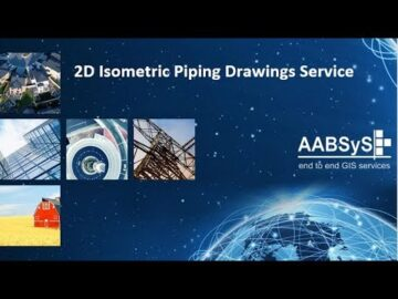 AABSyS 2D Isometric Piping Drawings Services